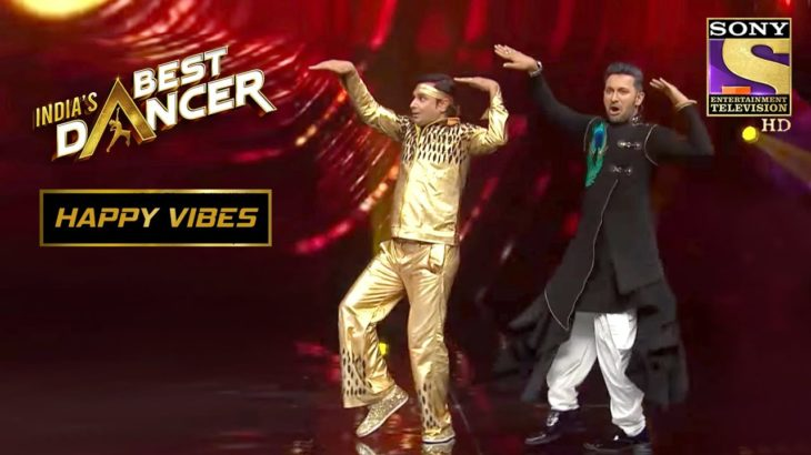 Terence ने Join किया Mamaji के इस Special Performance को | India's Best Dancer | Happy Vibes