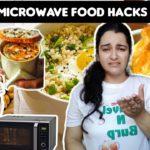 Testing out viral microwave food hacks 😐 by 5 minute crafts | Viral food hacks, Travelnburpwithsurya