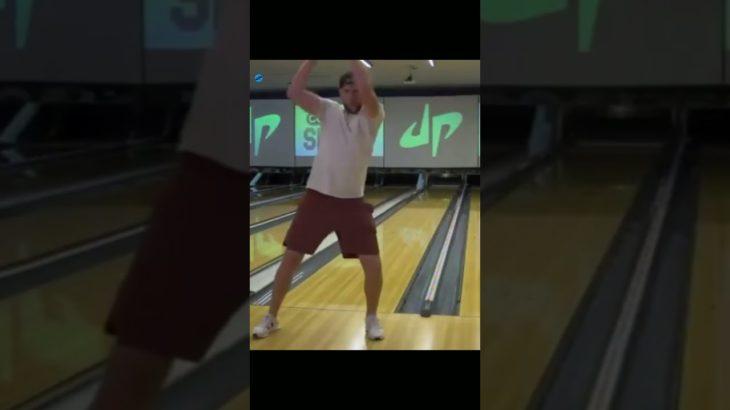 Top Notch Bowling Trick Shot  #Shorts#Viral#Dudeperfect