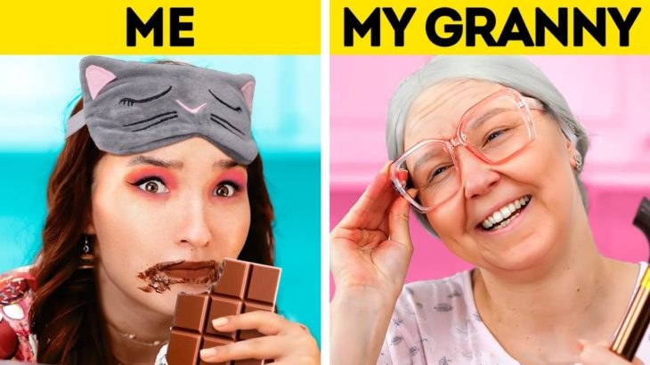 WHEN YOU'RE IN LOVE WITH FOOD || Relatable Situations And Awkward Moments With Food And Eating