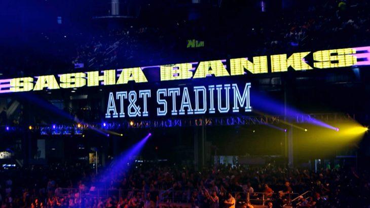 WWE Network Branding- Sasha Banks WrestleMania 32
