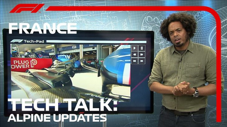 What's New On The Alpine A521? | F1 TV Tech Talk | 2021 French Grand Prix
