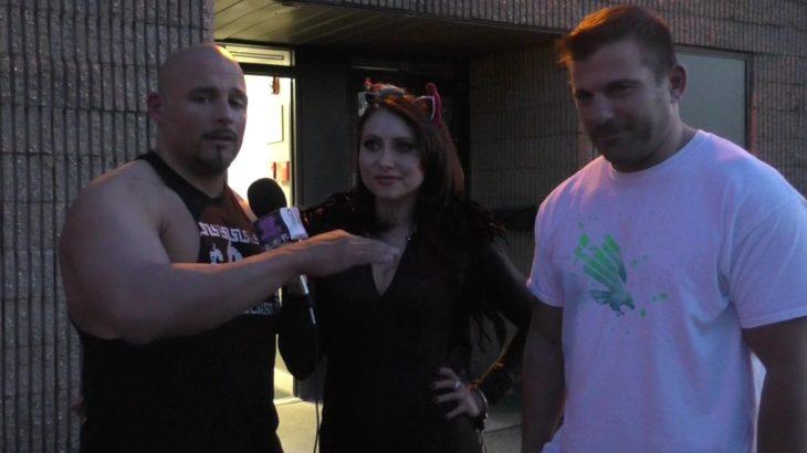 Wrestling Friendship Matt Striker & Greek God Papadon