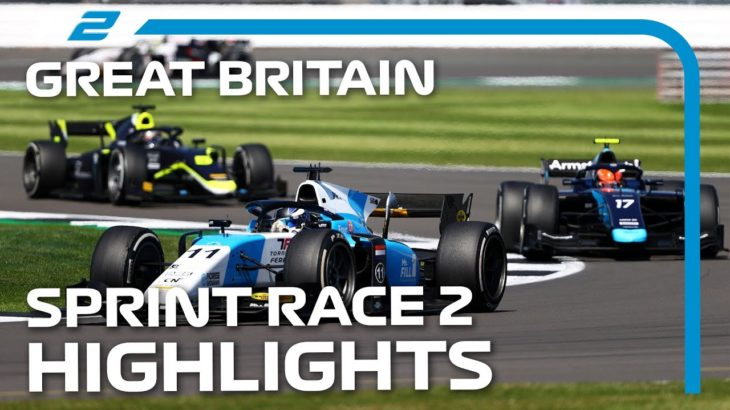 F2 Sprint Race 2 Highlights | 2021 British Grand Prix