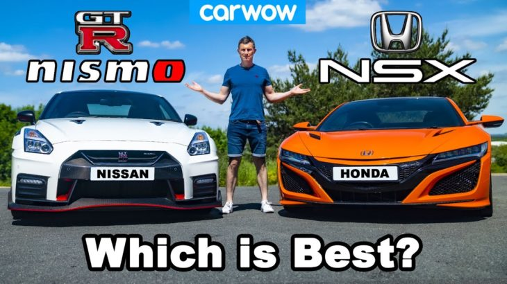 Honda NSX vs Nissan GT-R NISMO review with 0-60mph, 1/4-mile + brake test!