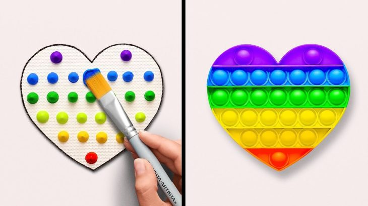 Mesmerizing Painting Ideas || Create Art Pieces Using Unusual Things