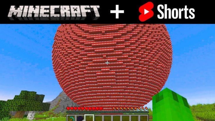 Minecraft Shorts Compilation 1