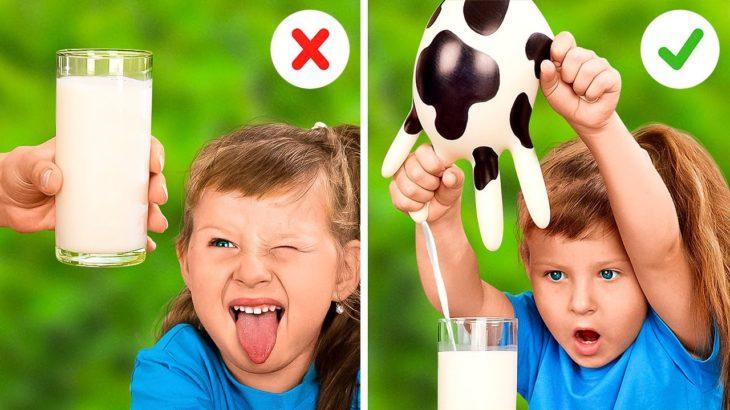 Smart Tricks For Creative Moms || Useful Gadgets And Parenting Hacks