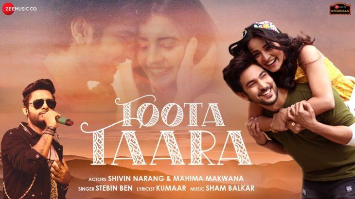 Toota Taara – Shivin Narang, Mahima Makwana | Stebin Ben | Sham Balkar|  Kumaar| Zee Music Originals