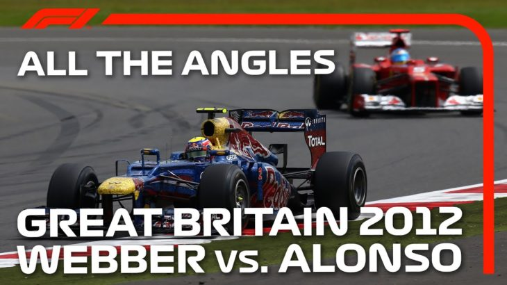 Webber And Alonso Duel At Silverstone | All The Angles | 2012 British Grand Prix