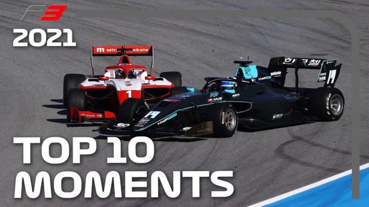 Formula 3 2021 Season: Top 10 Moments